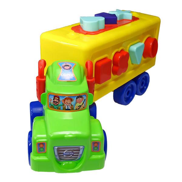 ماشین کامیون فکری کپل
