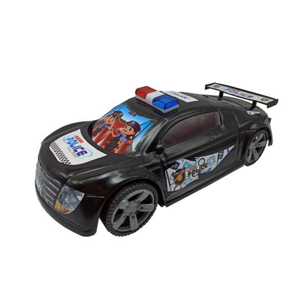 ماشین آئودی رنگی پلیس