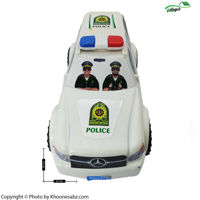 ماشین پاترول پلیس متوسط