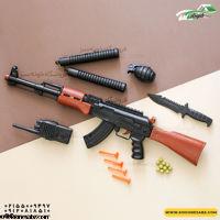 تصویر تفنگ مجموعه پلیسی کلاش