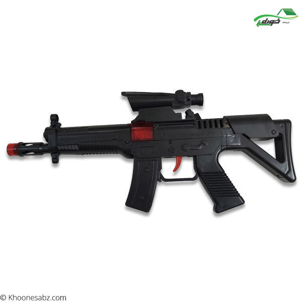تصویر تفنگ مسلسل m116