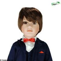 تصویر عروسک سرامیکی داماد
