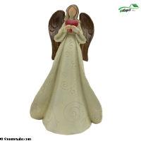 تصویر مجسمه فرشته پلی استربزرگ