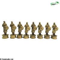 تصویر فکری مهره شطرنج پلی استر بزرگ
