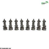 تصویر فکری مهره شطرنج پلی استر متوسط